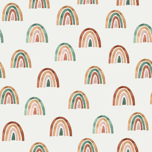 COUPON 110cm - Over the rainbow - tricot