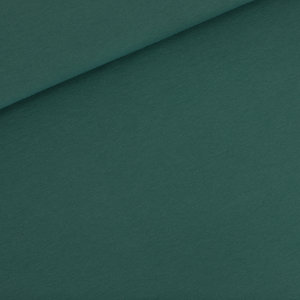 French terry - mallard groen