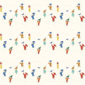 COUPON 50cm - Playtime gnomes - tricot