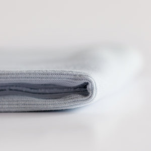 COUPON 12cm - Boordstof - stof blauw