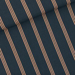 Three Lines peach - viscose
