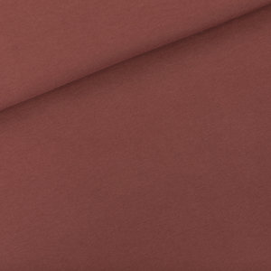 French terry - zandbruin