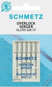 Schmetz overlock naalden 80/12