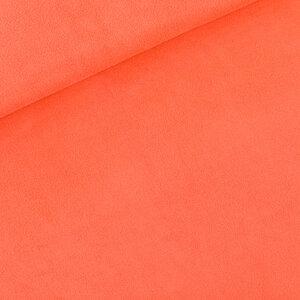 Spons - Badstof - persimmon oranje