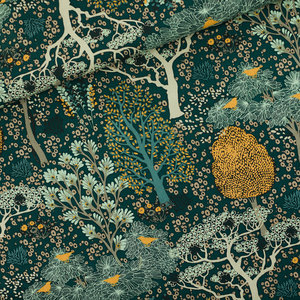 Oriental Garden gevelgroen - canvas