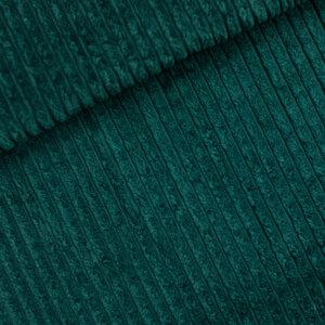 Corduroy brede rib - ponderosa groen