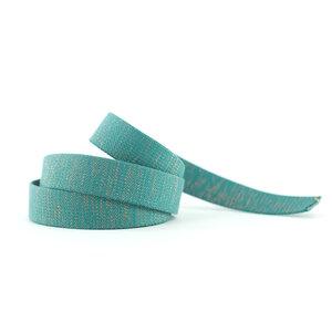 Tassenband - slate blauwgroen - 30mm