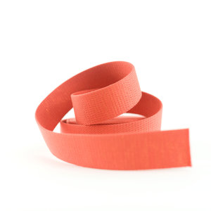 Tassenband - donker persimmon - 40mm