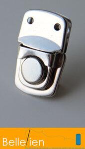 Tassluiting klein - zilver