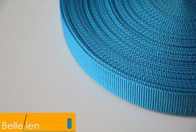 Tassenband lichtblauw 25mm