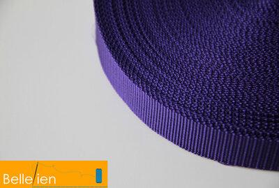 Tassenband paars 25mm