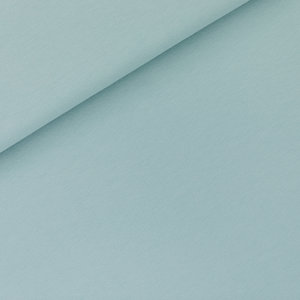 French terry - tourmaline blauw