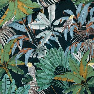 Jungle green gables - canvas