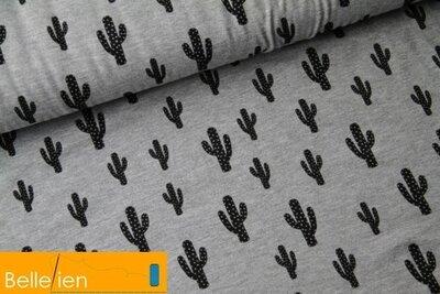 Cactus gris - viscose jersey