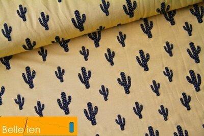 Cactus miel - viscose jersey