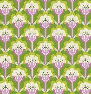 COUPON 200cm - Pop Blossom Green