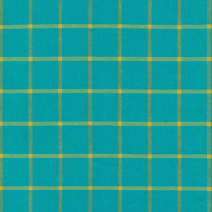 Window Dressing turquoise-amber