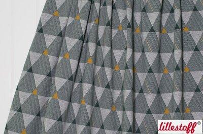 Tricot Dreiecke meliert