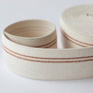 Elastische tailleband - koperen lijnen