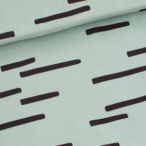 Tracks jadegroen - french terry