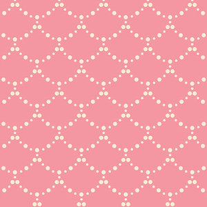 COUPON 90cm - Ripples Rose