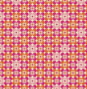 Square Petals Tangerine