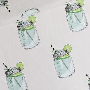 Iced Tea lichtgrijs - cotton lawn