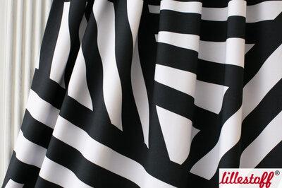 Black stripes - tricot