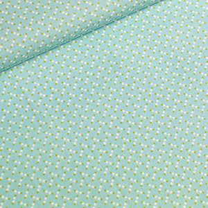 COUPON 115cm - Marching Marbles - pastel turquoise