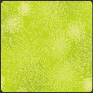 COUPON 70cm - Floral Kiwi