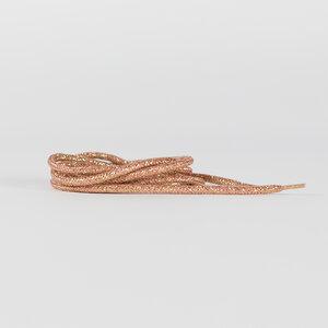 Schoenveters - rosé/goud