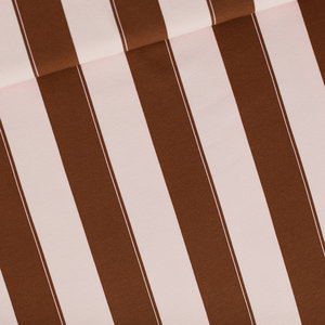 Wide Lines pink&brown - french terry