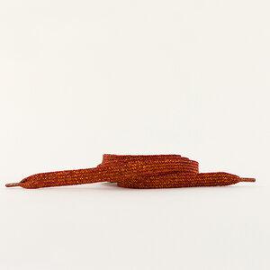 Schoenveters - spice rood/goud
