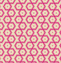 COUPON 150cm - Hexagons Magenta